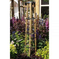 2.4m x 0.3m Garden Planter Various Heights Planed FlowerBed Oak Kit