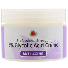 Reviva Labs, 5% Glycolic Acid Cream, Anti Aging, 1.5 oz (42 g) @ iherb. Want a discount?? Apply  discountcode UPA240 and save!