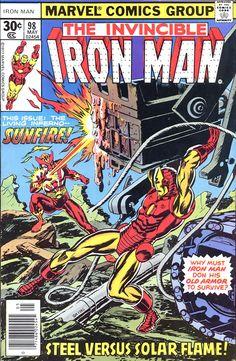 Iron Man #98 by Gil Kane