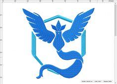 Pokemon Go inspired Team Mystic Emblem Vinyl Decal Catch Them All Pokeball Pikachu Car Window Macbook 0151 Pokemon Go Team Valor, Pokemon Go Team Mystic, My Pokemon, Pokemon Go Team Instinct, Mystic Symbols, Pokemon Party, Free Stencils, Silhouette Art, Usmc