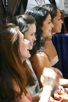 Jewel, Summer, Morena and Gina at Comic-Con 2004