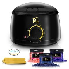 Wax Warmer Hair Removal Kit Professional Electric Pot Heater Melts Hot Beads #PureCleanLove