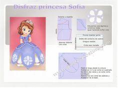 moldes patrones vestidos princesa - Buscar con Google
