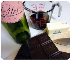 Chocolate Wine Truffles