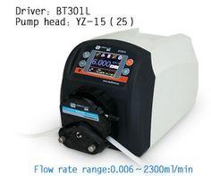 680.00$  Buy now - http://alihvd.worldwells.pw/go.php?t=2043585779 - BT301L YZ25 Intelligent peristaltic pump Water Liquid Industry Laboratory Flow Control Pump 0.16-990 ml/min 680.00$