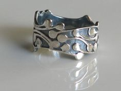 MY DROP'S RING, In Sterling Silver. $65.00, via Etsy.