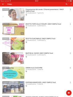 ANGY SIMPLE food  new italian food channel . Follow me in YouTube