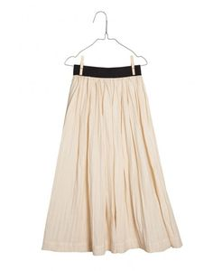 Long flowing skirt with elastic waistband
