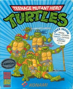 Turtles videogame konami
