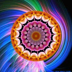 inspiration ! inspiração ! Mandala de Pierre Vermersch Digital Drawings