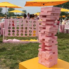 #weddinginspiration from the @veuveclicquot #polotournament today... Life sized board games! #vcpoloclassic #weddingideas