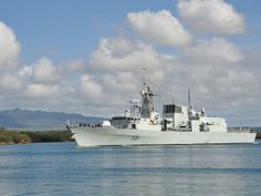 160808-N-IU636-166 PEARL HARBOR (Aug. 8, 2016) Royal Canadian Navy Halifax-class frigate Her Majesty's Canadian Ship Vancouver (FFH 331) departs Joint Base Pearl Harbor-Hickam following the conclusion of Rim of the Pacific 2016.   (U.S. Navy Photo By Mass Communication Specialist 2nd Class Johans Chavarro/Released) ~