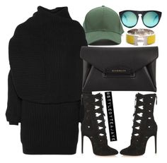 """""""Untitled #2154"""" by stylebyteajaye ❤ liked on Polyvore featuring Acne Studios, Givenchy, Alexander Wang and Hermès"""