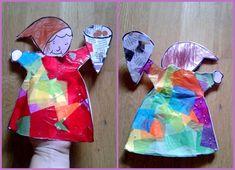 Estas son las manualidades representando a la Castañera que mis hijos hicieron el curso pasado en la escuela.     Careta de la Castañera. El...