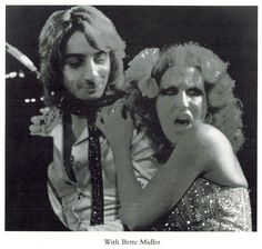 .Barry  Manilow and Bette Midler