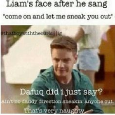 Hahahahahaha jeez daddy direction