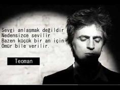 "Teoman ""sevgi anlaşmak değildir"" - YouTube Aktiv, Zumba, Youtube, Quotes, Fictional Characters, Instagram, Istanbul, Quotations, Fantasy Characters"