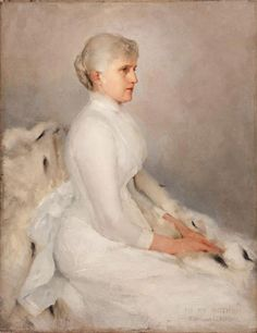 My Mother by Edmund Tarbell (American 1862-1938)
