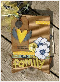 Family Mini Album kit by ScrapbookingStudioIL on Etsy, $42.00