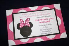 Do It Cute: Minnie Mouse Birthday Invitation