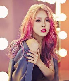 Park hye min (i love her haaaiiir)