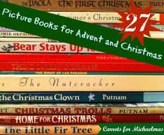 27 Picture Books for Advent and Christmas // Carrots for Michaelmas