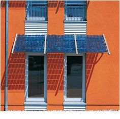 Solar Panel Design over Doorways - Possibility over exterior doors on Fifth Floor and ontop of 4th floor terrace Awning.