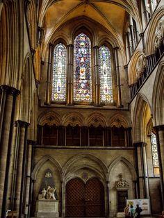 Interior de la Catedral de Salisbury (Salisbury - England)