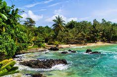Isla Bastimentos, Red Frog Beach, Panama