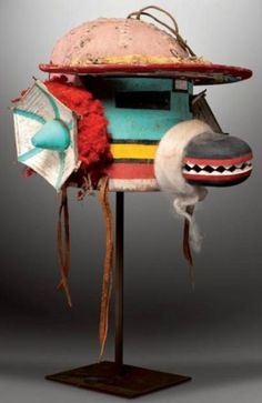 Hopi cultural officials, in conjunction with The Heard Museum and the Museum of Northern Arizona, are calling for a French auction of tribal masks to be cancell Native Art, Native American Art, American Indians, Indian Horses, Indian Tribes, Masks Art, Weird And Wonderful, Art Dolls, Objects