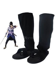 Naruto Uchiha Itachi Cosplay Shoes - Milanoo.com