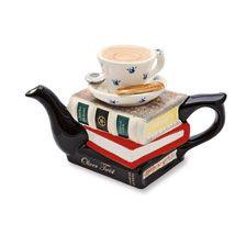 Teapot 'Books' von Carters of Suffolk        bestellen - THE BRITISH SHOP - typisch englisches Produkt 'very british'