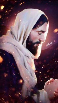 Jesus And Mary Pictures, Pictures Of Jesus Christ, Mary And Jesus, Jesus Artwork, Jesus Christ Painting, Jesus Tattoo, Jesus Our Savior, God Jesus, Jesus Gif