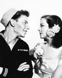 Frank Sinatra and Kathryn Grayson in Anchors Aweigh (1945)