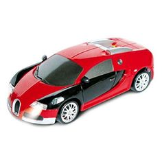 Bugatti Veyron Remote Control RC Drift Car 1:24 Ready to Run w/ Rechargeable Battery, Spare Rubber Tires, Perform Various Drifts (Colors May Vary), Orange