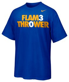 No net is safe. The Stephen Curry FLAM3 THR0WER Tee is here.