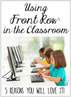 Front Row is a free online program for math and reading. Read more on this post.