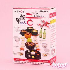 ORCARA Miniature Dollhouse Korean Food Toy Figure