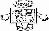Cuerpo Humano colorear dibujos
