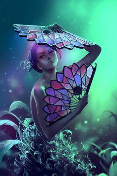 """cyrilrolando: """" The art of the leaf-stripping by AquaSixio """""""