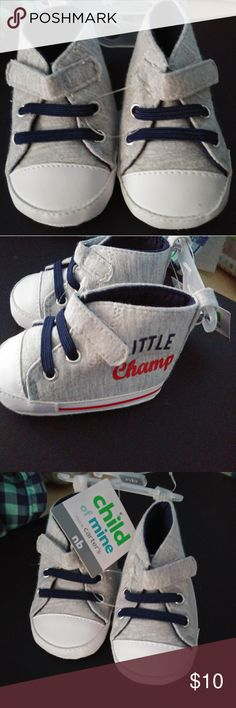 700a881bf Newborn Baby Boys Champs Hi-Top Sneakers