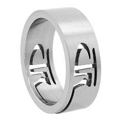 Surgical Steel CTR Ring 8mm Wedding Band Matte Finish, size 9 - http://mormonfavorites.com/surgical-steel-ctr-ring-8mm-wedding-band-matte-finish-size-9-3/  #LDS #MormonFavorites #LDSGems