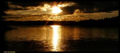 as the sun sets...in Finland by Arawn-Photography