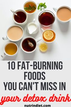 If you love a fat burning detox drink, then you should include these foods in your detox drink to boost your fat burning, #fatburningtips #fatburningdetox Fat Burning Smoothies, Fat Burning Detox Drinks, Fat Burning Tips, Fat Burning Foods, Fat Burning Supplements, Ginger Tea, Detox Recipes, Fresh Fruit, Juice
