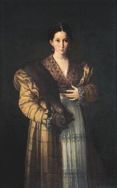 Parmigianino (Francesco Mazzola), Antea - Napoli, Museo di Capodimonte
