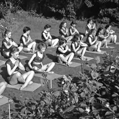 View Vintage Yoga Photos @ our Pinterest Gallery