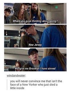 I'm just a kid from Brooklyn.