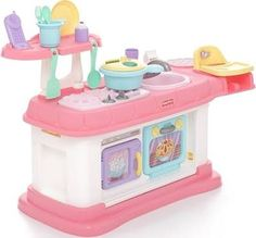 Fisher Price Grow With Me Cook And Care Kitchen, Pink
