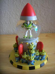 """Disney Toy Story """"Buzz Lightyear"""" Miniature Snow globe"""