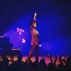One of Prince's last performances 2016
